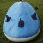 inflatable stand up board fins