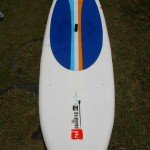 10ft Red Paddle Co iSUP top deck from nose