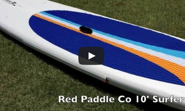 red paddle co 10ft surfer inflatable stand up board