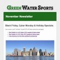 November Newsletter by Green Water Sports