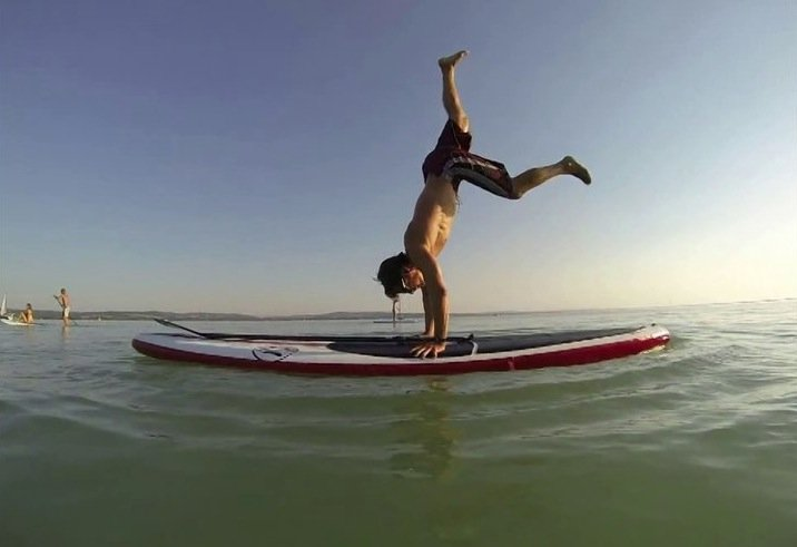 red paddle co inflatable stand up paddle freestyle