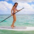Common beginner error backwards SUP paddle