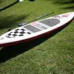 Deck area of Red Paddle SUP