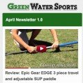 Epic Gear EDGE paddle review in stand up paddle news