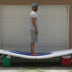 10psi inflatable stand up paddle board