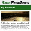 May 2.0 inflatable SUP and Red Paddle Co stand up newsletter