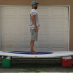 rss25psi stand up board inflatable