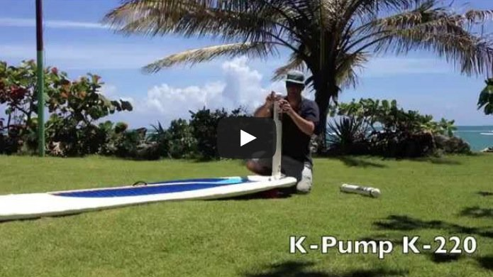 K Pump SUP inflatable stand up paddle board pump