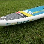 12 6 Explorer 2015 Red Air inflatable SUP
