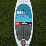 Red Paddle Co 2015 Ride 9 8 inflatable SUP board