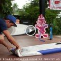 starboard inflatable stand up board sup