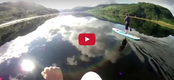 exploring on your inflatable paddle board