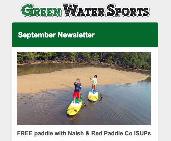 red paddle co and naish SUP sale