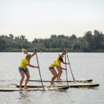 inflatable paddle board racing