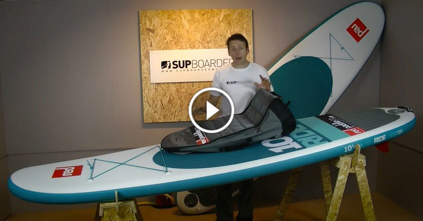 SUP Review 2016 Red Paddle Co 10 6 Ride Review