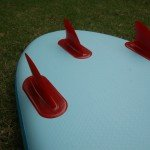 18 iFin fins on Red Paddle Co board