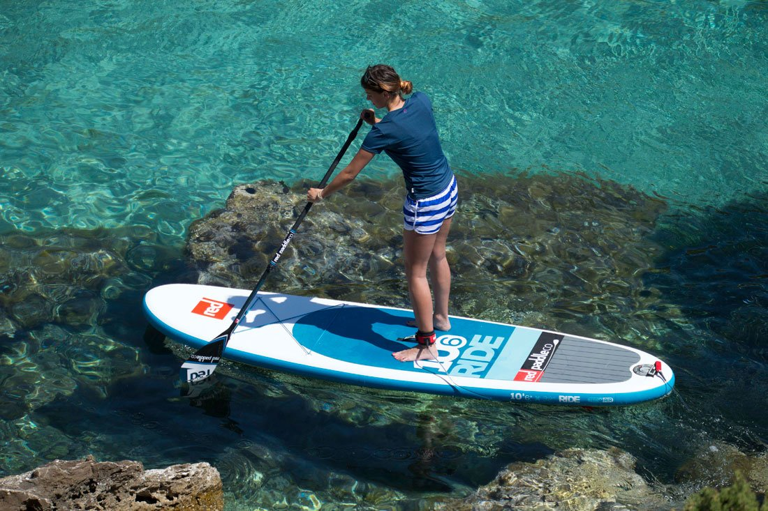 2016 Red Paddle Ride 10 6 inflatable paddle board