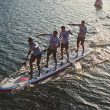 2017 red paddle dragon sup inflatable team racing paddle board