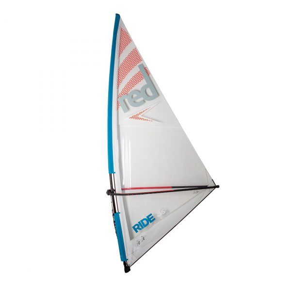 red paddle co windsurf rig 3.5m sup windsurfer inflatable paddle board green water sports
