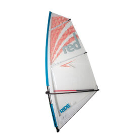 red paddle co windsurf rig 4.5m sup windsurfer inflatable paddle board green water sports