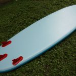 15 iFIN thruster fin system on 2017 red paddle ride 10 6