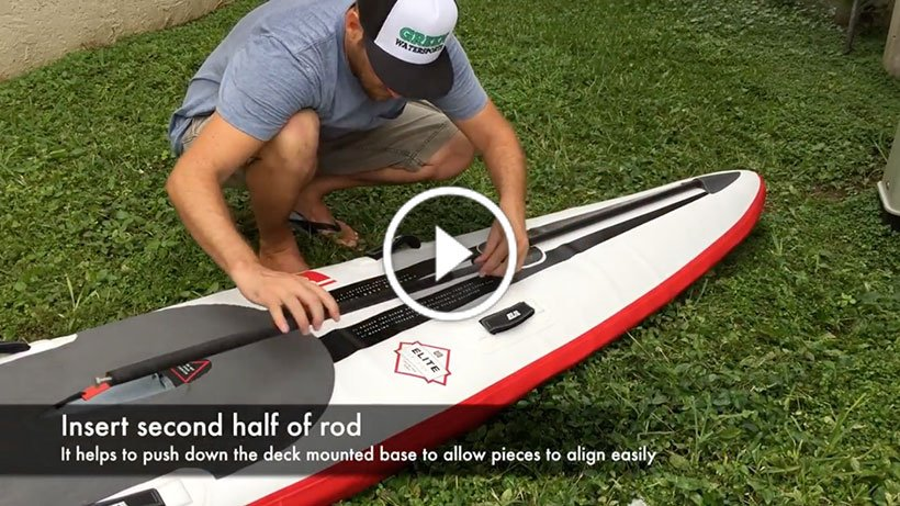 forward flex control on red paddle co 2017 inflatable paddle board sup