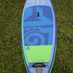 deck pad of the 2017 starboard inflatable whopper zen paddle board sup 2017