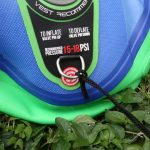 starboard inflatable paddle board d ring leash attachment
