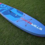 best big inflatable sup paddle board astro atlas delxue 12