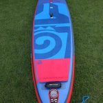 deck pad on astro atlas inflatable paddle board sup 12ft starboard