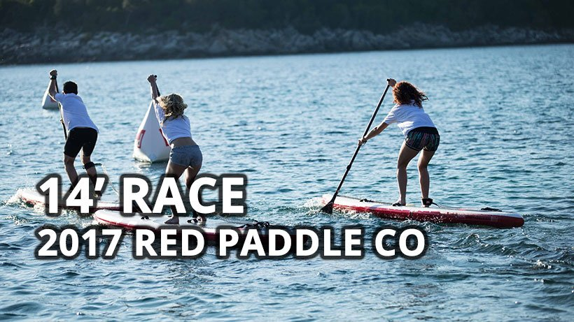 red paddle co 2017 14ft race inflatable paddle board iSUP