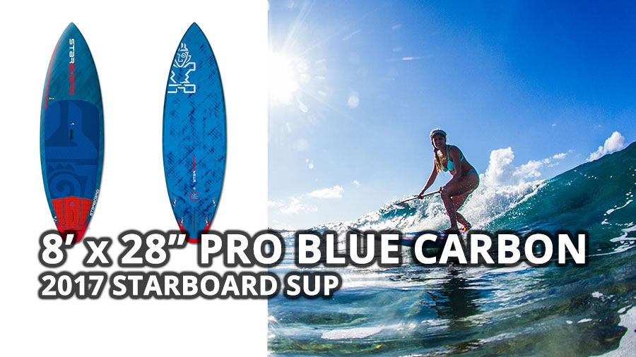 starboard paddle board blue carbon stand up