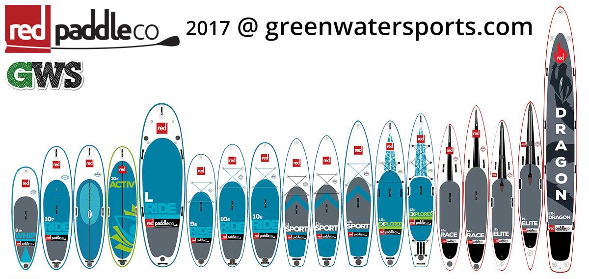 2017 red paddle co inflatable paddle board range best sup