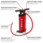 2018 red paddle inflatable sup titan pump