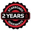Starboard inflatable sup paddle board 2 year warranty