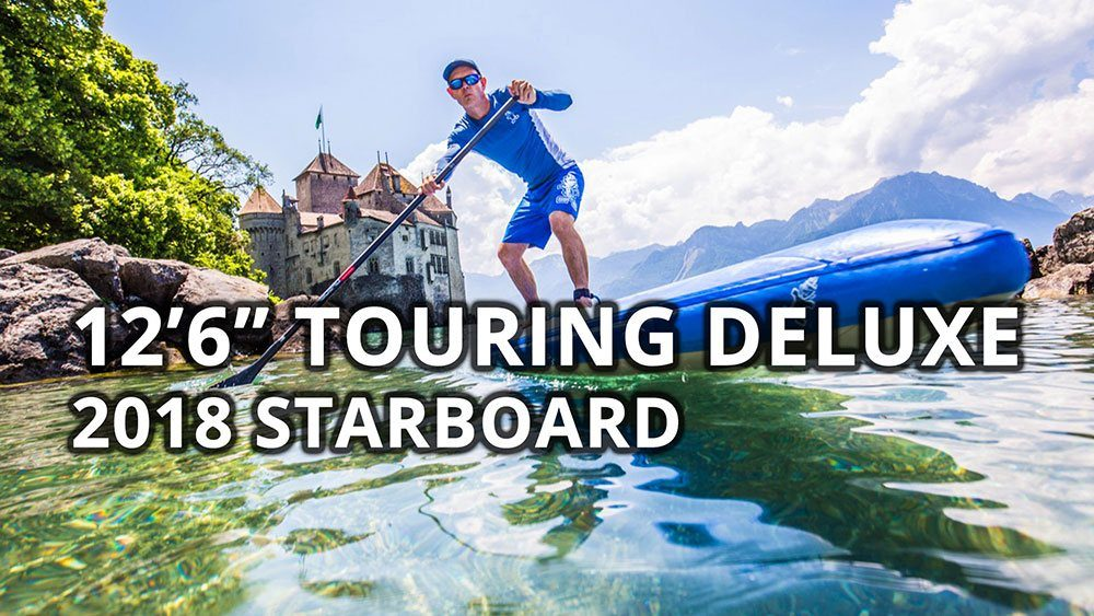 2018 starboard touring deluxe double chamber 12 6 inflatable stand up paddle board