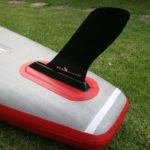 fcs fin on starboard touring sup deluxe dc