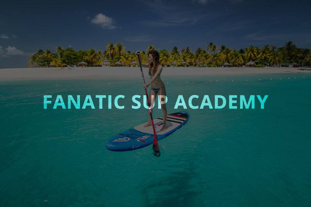 how to stand up paddle with fanatic inflatable paddle board sup