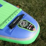 tail handle on starboard inflatable sup