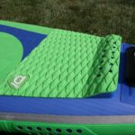 tail pad on atlas zen starboard inflatable paddle board