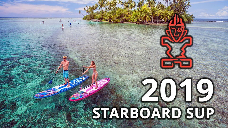 2019 Starboard SUP inflatable paddle boards