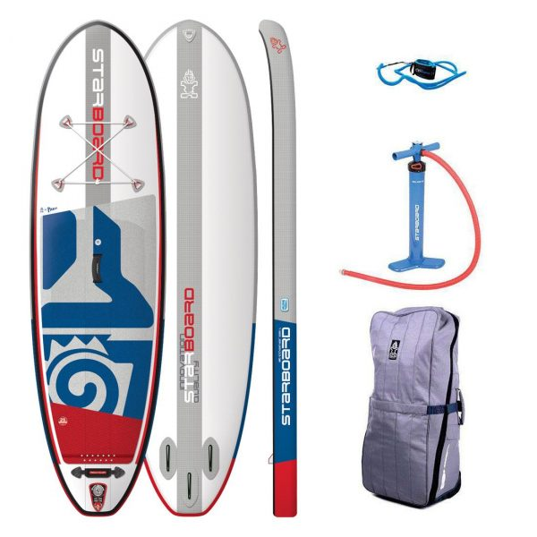 2019 starboard igo 10×33 inflatable sup whopper paddle board green water sports