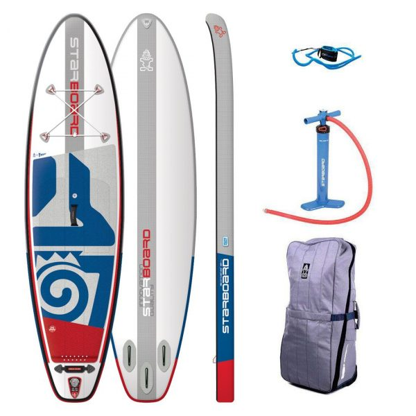 2019 starboard inflatable sup igo 10 4×32 all round board green water sports