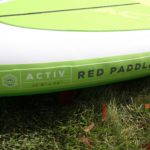 best yoga paddle board activ red paddle co 2019 green water sports