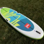 red paddle co inflatable sup 2019 green water sports
