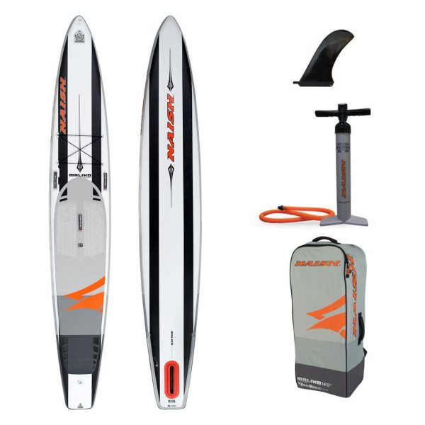 2020 naish 2019 inflatable stand up paddle board sup best race board maliko 14ft green water sports