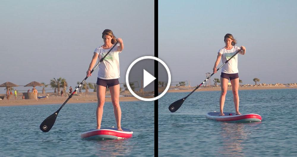 fanatic paddle board sup how to video