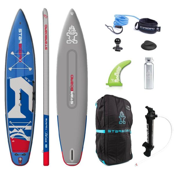 2020 starboard touring deluxe double chamber 12 6×30 inflatable paddle board green water sports