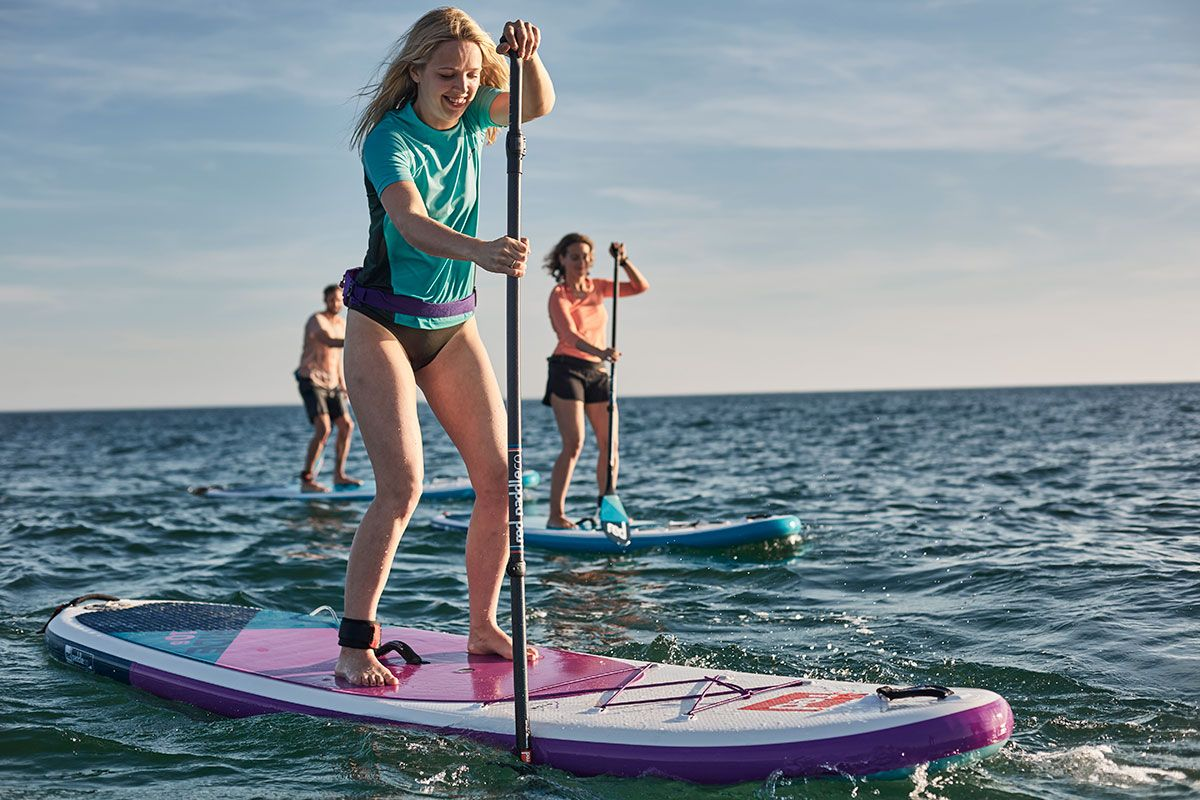 red paddle co 2020 ride 10 6 SE paddleboard green water sports