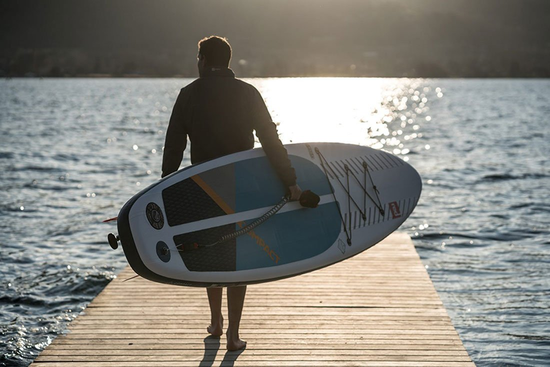 red paddle co compact 11 most portable inflatable touring sup paddle board